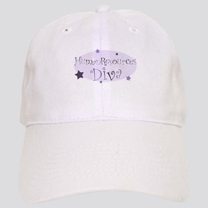 """Human Resources Diva"" [purpl Cap"